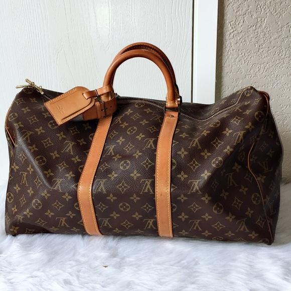 63ecd8b82b18 Louis Vuitton Handbags - 💄💋Auth Louis vuitton keepal 50💄💋